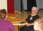 Stretnutie s pani Evou Kristínovou...