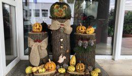 Halloweenske vyrezávanie