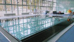 Nový rehabilitačný bazén